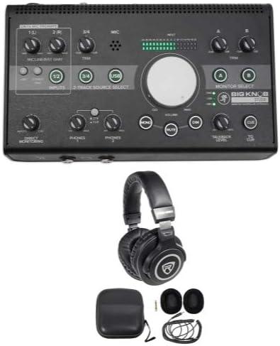 Mackie Big Knob Studio 3x2 Monitor Controller 96kHz USB I//O+Bluetooth Speaker