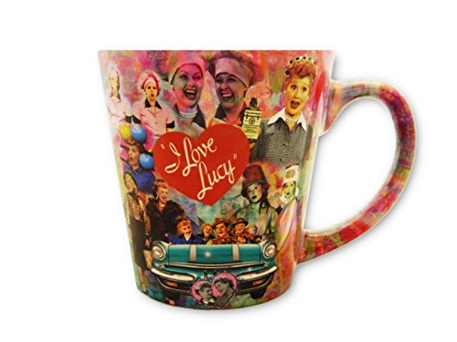 I Love Lucy Mug With Collage by Midsouth Products