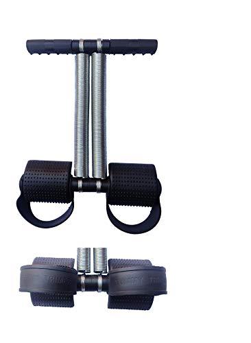 VSM Double Spring Tummy Trimmer, Ab Exerciser   Multipurpose Fitness Equipment Ab Exerciser  Black