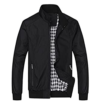 Nantersan Mens Casual Jacket Outdoor Sportswear Windbreaker ...