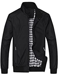 d55595ea3b Mens Casual Jacket Outdoor Sportswear Windbreaker Lightweight Bomber Jackets  and Coats