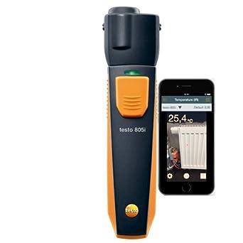 Testo® 805i termómetro de infrarrojos con Smartphone operación: Amazon.es: Industria, empresas y ciencia