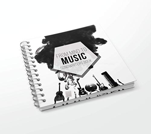 Part Writing Music - How To Create a Song! The best Writer Book for SongWriter, a Journal to Write your Lyric Ideas, Tool for Songwriters, Music Notebook for Make Lyrics and Songs, Songwriting Maker Tools!