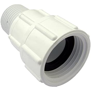 LASCO 15 1629 PVC Swivel Hose Adapter With 3/4 Inch Female Hose