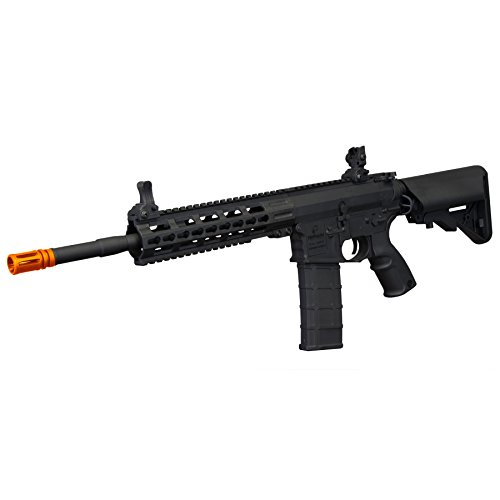 (Tippmann Tactical Commando AEG Carbine 14.5in Airsoft Rifle Black)