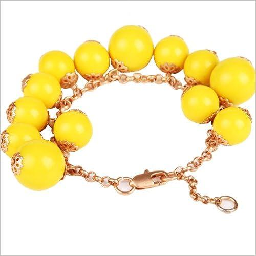 Book Jane Stone Beads Friendship Bracelets Fashion Jewelry Acrylic Beads Beach Bracelet