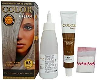 Pack Ahorro de 2 x Tintes Permanente para el Cabello de Color Rubio Platino 88