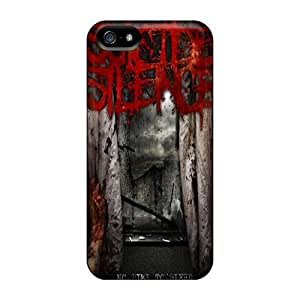 Excellent Iphone 5/5s Case Tpu Cover Back Skin Protector Suicide Silence