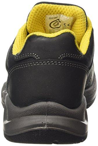 De Ii S3 Negro Trabajo Flow Diadora Adulto nero Zapatos Unisex Low wPXfq6xH