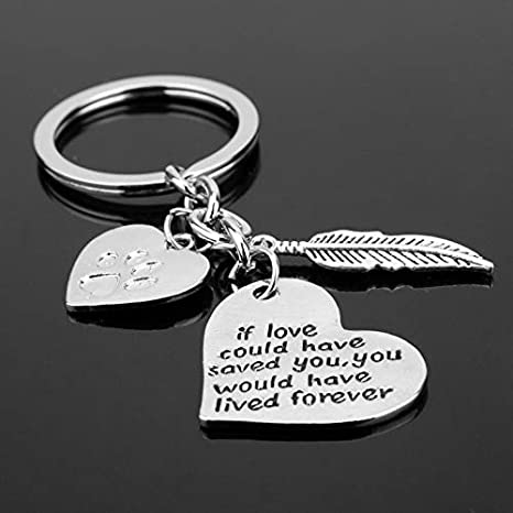 Amazon.com: Key Chains - If Love Could Have Saved You,You ...