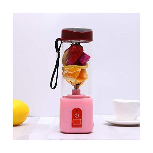 Frullatore elettrico portatile Frullatore USB Mini miscelatori di frutta Spremiagrumi Estrattori di frutta Frullato… 6 spesavip