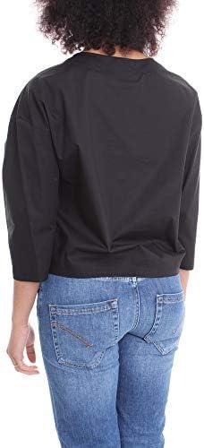 Love Moschino Luxury Fashion Donna WCD5001S3296C74 Nero Cotone Blusa | Primavera-Estate 20