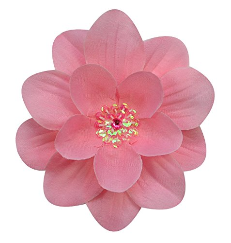 Claribel Flower Hair Clip (Light Rose)