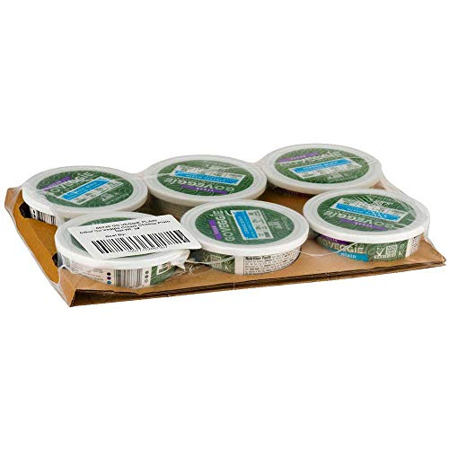 Go Veggie Vegan Classic Plain Flavor Cream Cheese Alternative, 8 Ounce -- 6 per case.