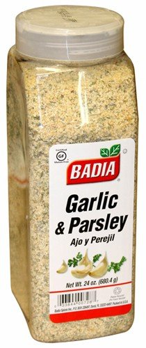 Badia Garlic and Parsley. 24 oz container. Large container ()