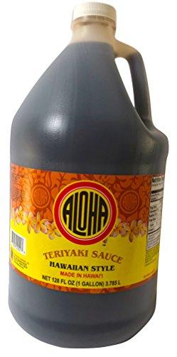 Aloha Hawaiian Style Teriyaki Sauce 128 Ounce