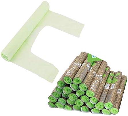 ZHAOYAN - Bolsa de Basura Biodegradable, 25 Rollos de Papel ...