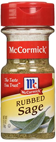 McCormick Rubbed Sage, 0.5 oz (Pack of 6)