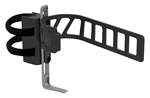 Clinch 650 Expandable Bottle Cage and Mount - Black/Gray (Mounting Bottle Cage)