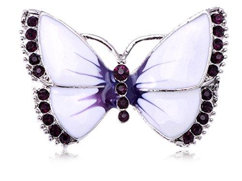Vintage Butterfly Pin Brooch - 9