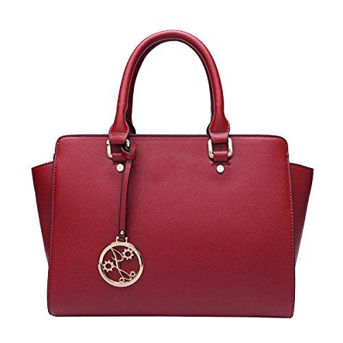 Yy.f Nuevos Bolsos De Mano Bolsa De Alas Manera Bolso De Cuero De Las Señoras Bolso De Hombro De La Moda Multicolor Red