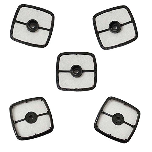 PODOY (Pack of 5) Air Filter For Echo 13031054130 Trimmer Blower A226001410 Mantis 130310-54130 SRM 210 225 HC150 Replace OREGON 30-119 Stens 102-565