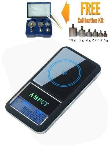 Price comparison product image Digital Touchscreen Jewelry Scales 200 X 0.01g with Backlight (Scale + weight)