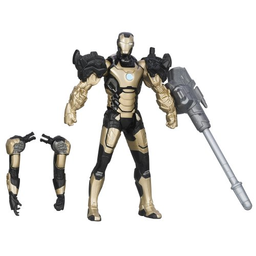 Marvel Iron Man 3 Assemblers Iron Man Mark 42 Figure (Mark Iron Iii)