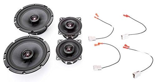 (1993-1997 Toyota Corolla Elite Series Complete Vehicle Speaker Package Upgrade by Skar Audio)