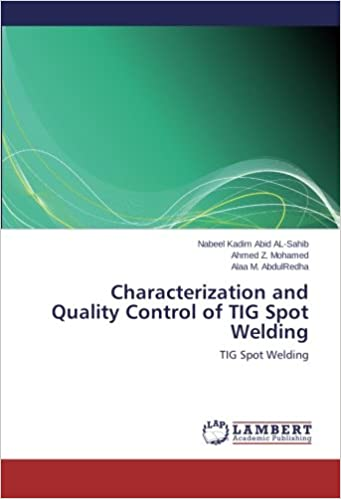 Book Characterization and Quality Control of TIG Spot Welding: TIG Spot Welding