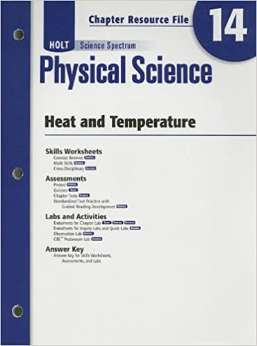 Counting Number worksheets heat and light energy worksheets : Amazon.com: Holt Science Spectrum: Physical Science with Earth and ...