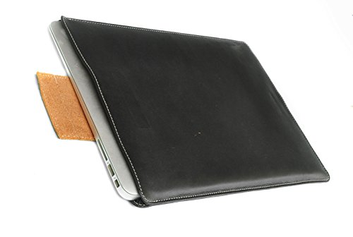Chalk Factory Leather Laptop Sleeve with Water Proof core and Inner Lining for Dell XPS (13