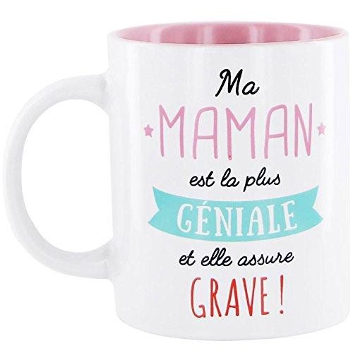 Mug maman - Ma maman est la plus géniale