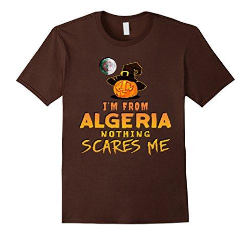 Mens I'm From Algeria Nothing Scares Me Tee 3XL (Algerian Costume For Men)