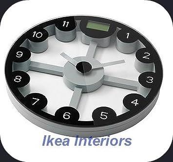 Anten Ikea Balance De Salle De Bain Numérique Et Horloge