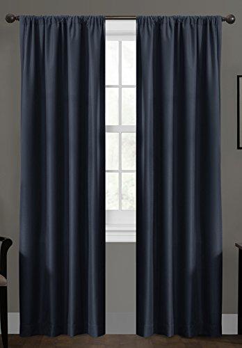 Certified 100 Percent Blackout Maytex Smart Curtains Ultimate Light Blocker Julius Window Panel, 50 x 63, - Light Blocker