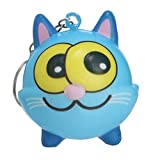 2019 New, Kawaii Adorable Cartoon Animal Toy,have Slow Rising Cream Keychain Stress Relief Toys Toys Party Favors,as toys for giving vent to your emotion. (B)
