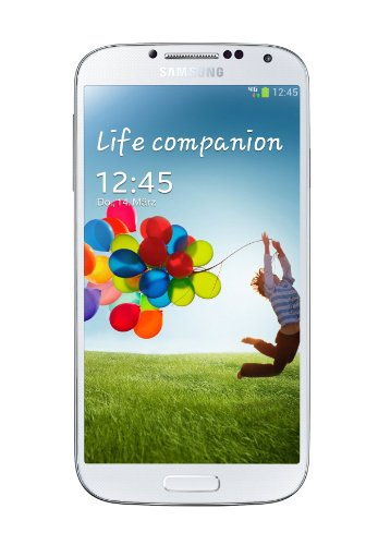 Samsung Galaxy S4 I545 Verizon Wireless CDMA 16GB 4G LTE Smartphone w/ 13MP Camera - White (Renewed) (Mobile Phone Service Plans)