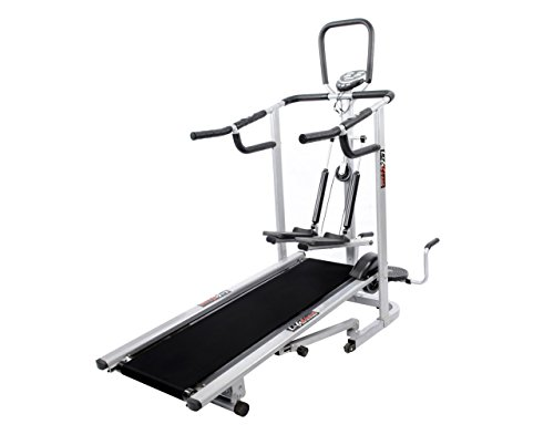 Lifeline 4 in 1 Deluxe Manual Treadmill