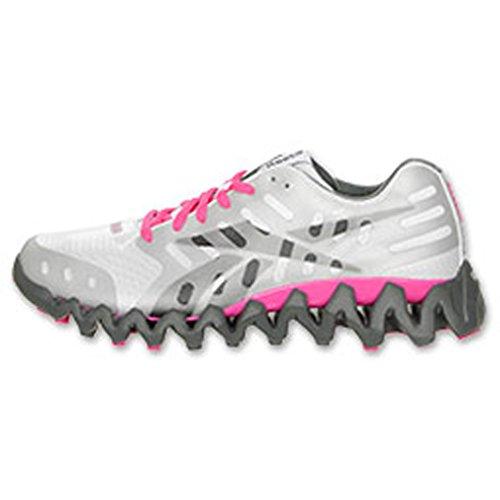 Reebok Zigtech Shark White/Grey/Pink 11