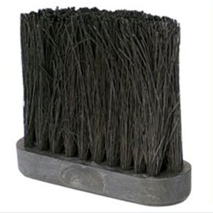 Uniflame Tampico Fireplace Broom Replacement Brush Head, 4-Inch - Broom Head Replacement