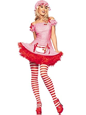 Costume Adventure Womenu0027s Sexy Strawberry Shortcake Costume -S/M  sc 1 st  Amazon.com & Amazon.com: Costume Adventure Womenu0027s Sexy Strawberry Shortcake ...