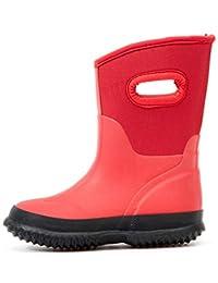 Outee Kids Toddler Neoprene Warm Snow Rain Boots