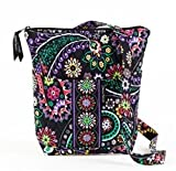 Bella Taylor Carnevale Hipster Quilted Cotton Cross Body Bag, Bags Central