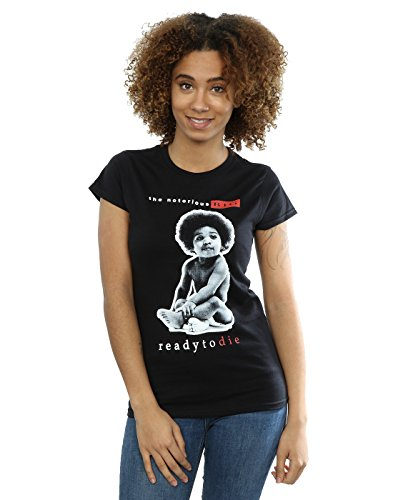 Notorious BIG Women's Ready to Die T-Shirt X-Large Black