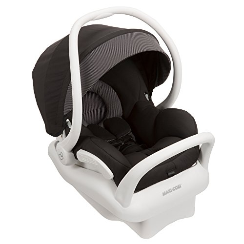 Maxi-Cosi Mico Max 30 Infant Car Seat, White Collection, Devoted Black (Discontinued by Manufacturer)