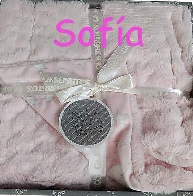 Manta Bebe Personalizada con nombre bordado- danielstore (Beige): Amazon.es: Bebé