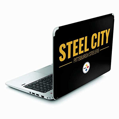 Skinit Pittsburgh Steelers Team Motto Envy TouchSmart 15.6in Skin - Officially Licensed NFL Laptop Decal - Ultra Thin, Lightweight Vinyl Decal Protection