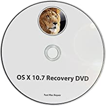Mac OS X 10.7 Lion Full OS Install - Reinstall / Recovery Upgrade Downgrade / Repair Utility Core 2 Duo Factory Reset Disk Drive Disc CD DVD