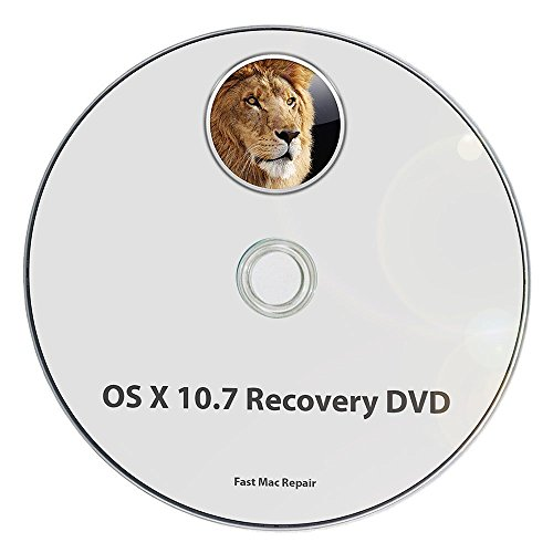 Mac OS X 10.7 Lion Full OS Install - Reinstall / Recovery Upgrade Downgrade / Repair Utility Core 2 Duo Factory Reset Disk Drive Disc CD (Full Disk)